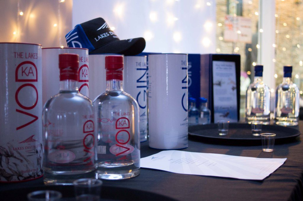 Lakes Distillery gin and vodka at the Kendal Festival of Food