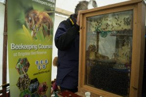 Kendal and South Westmorland Beekeepers Association stand