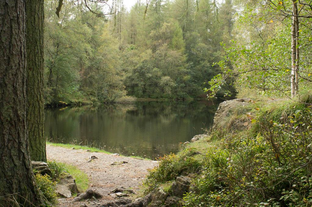 A peek at Low Dam