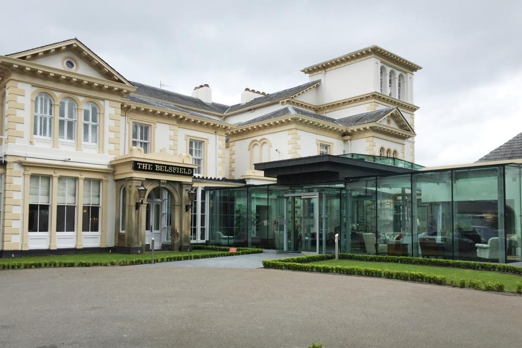 The Laura Ashley Belsfield's glass reception
