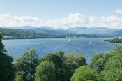 One of the views of Windermere from Queen Adelaide's Hill