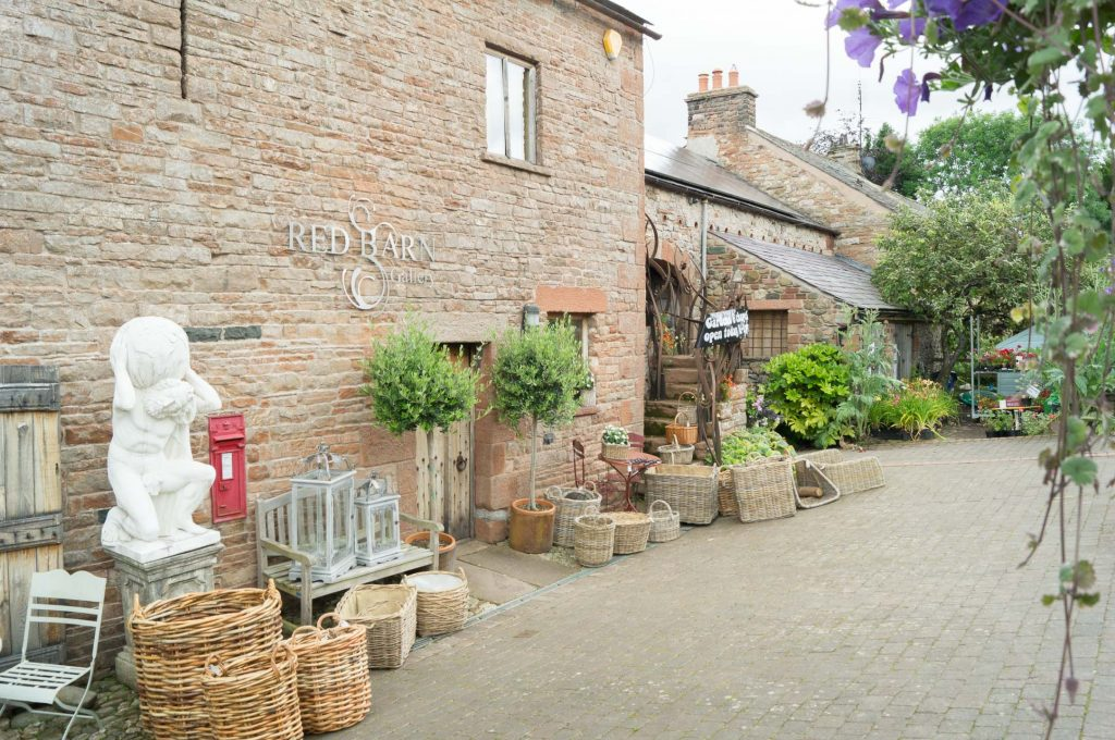 The entrance to Larch Cottage Nurseries