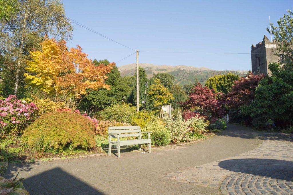 Outside Grasmere Garden Village