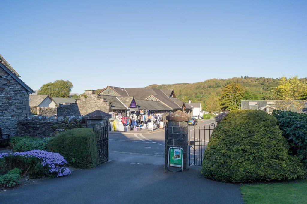 View from Hawkshead Grammar School