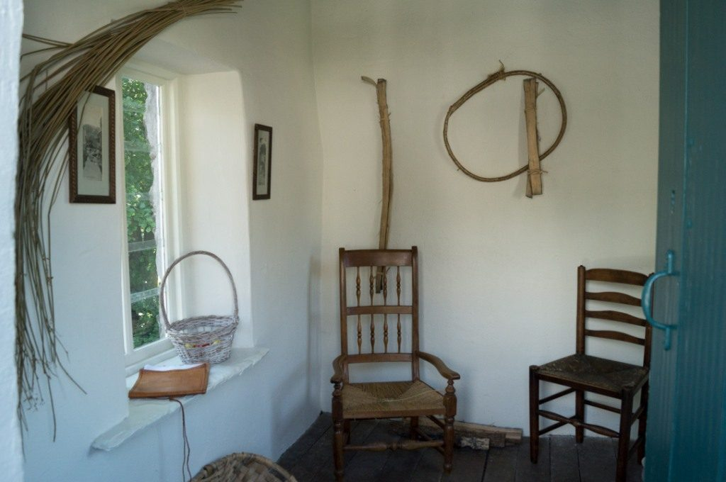 The light and airy upstairs room
