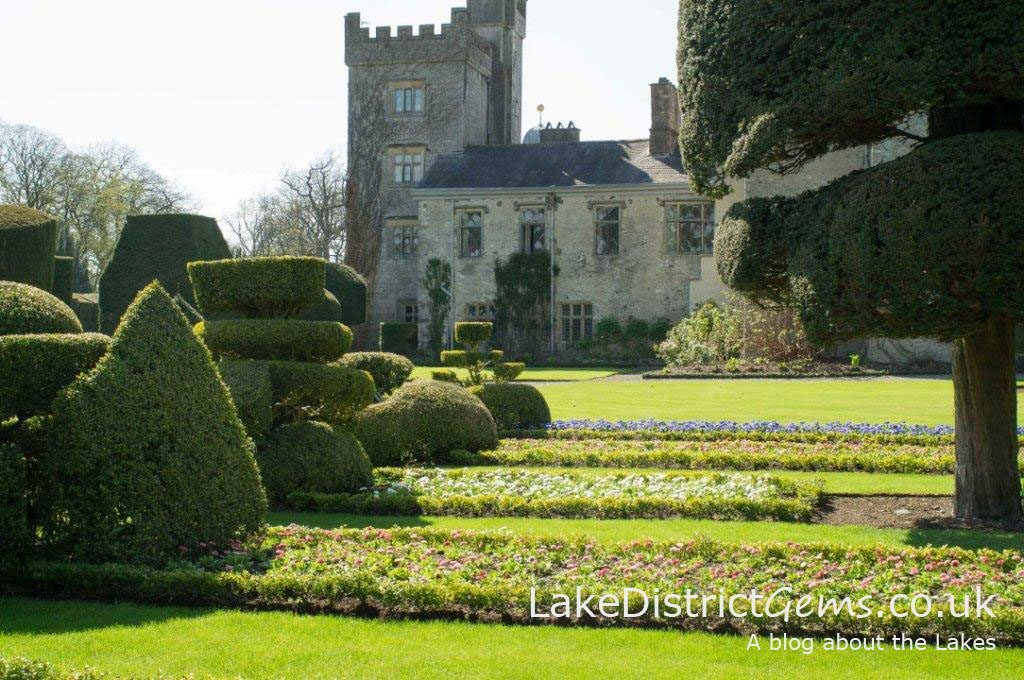 Levens Hall in May