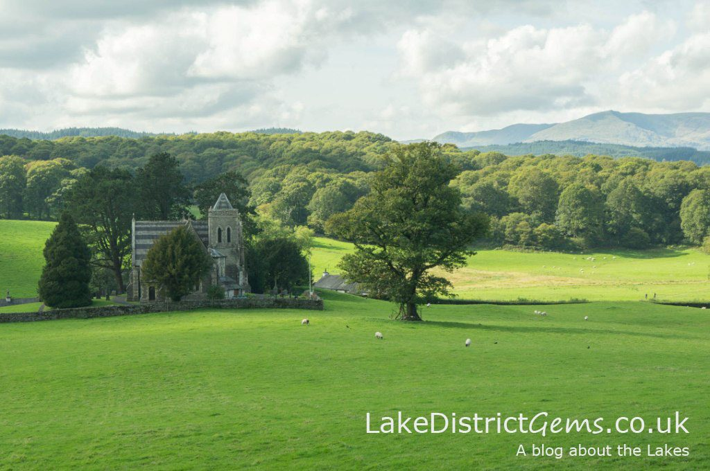 Between Far Sawrey and Near Sawrey