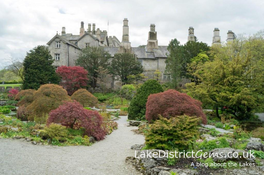 Sizergh Castle's rock garden in May