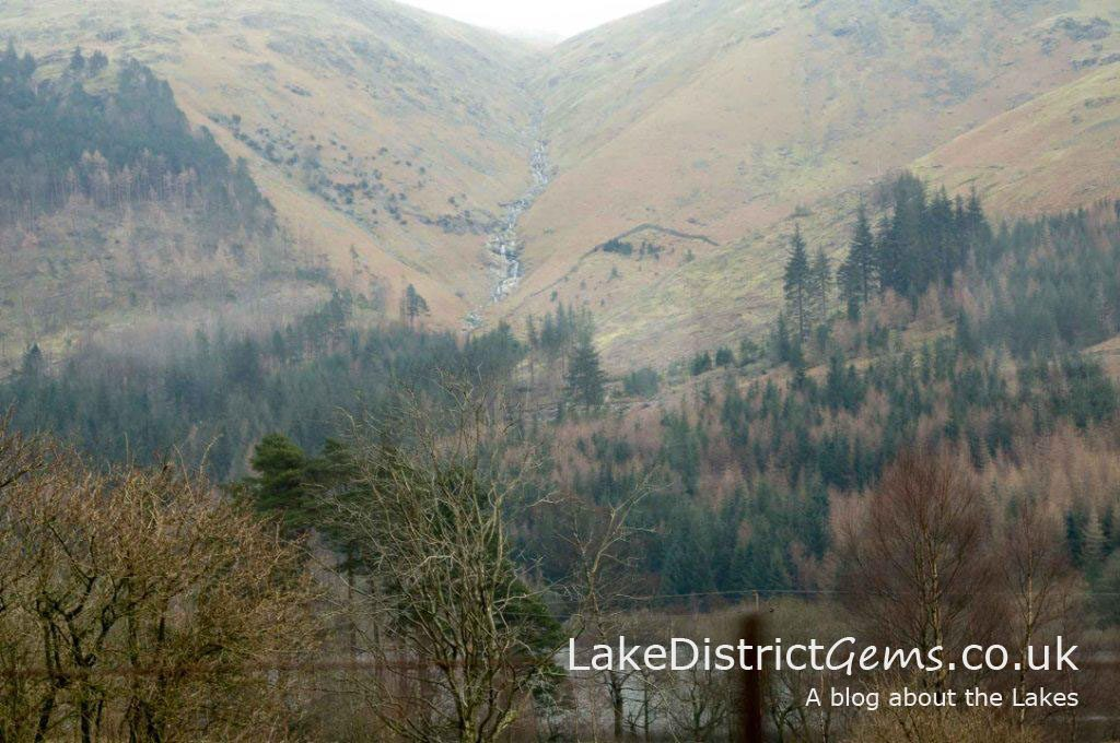 Views from the Grasmere to Keswick temporary shuttle bus service