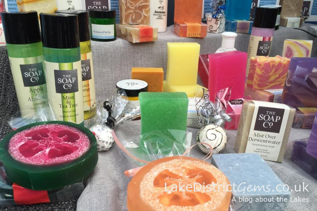 Products up close at the Lakes Hospitality Show