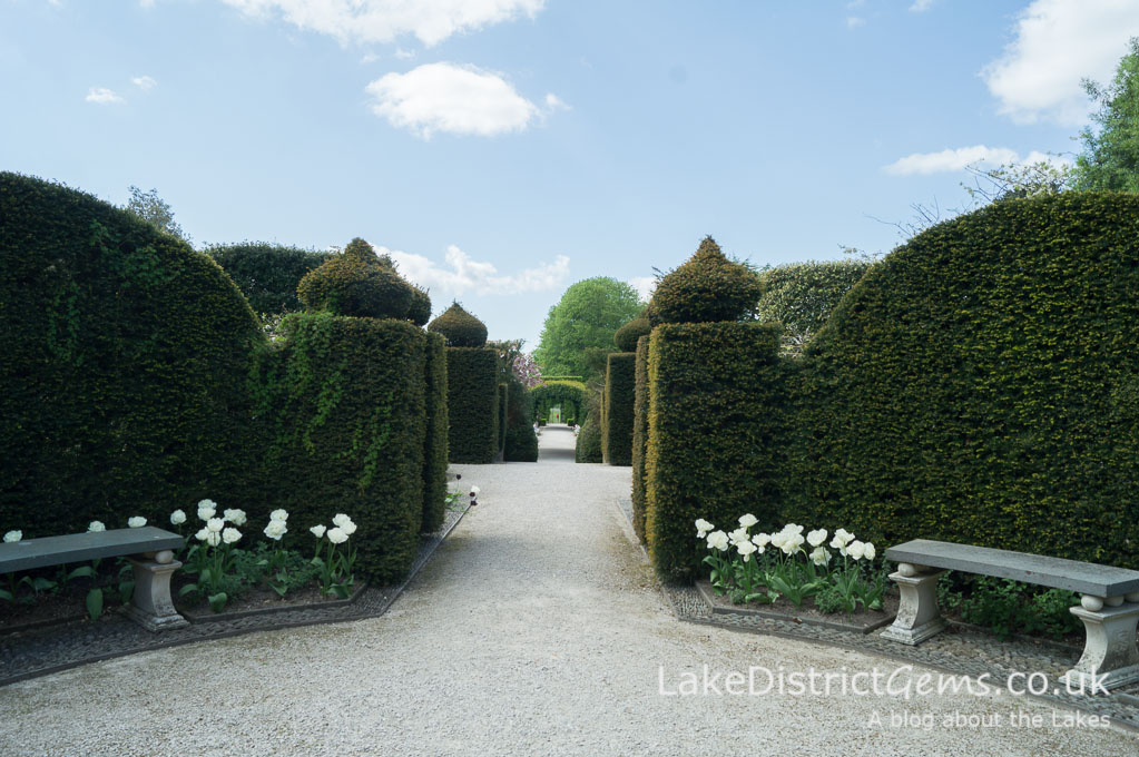 Topiary at Holker Hall