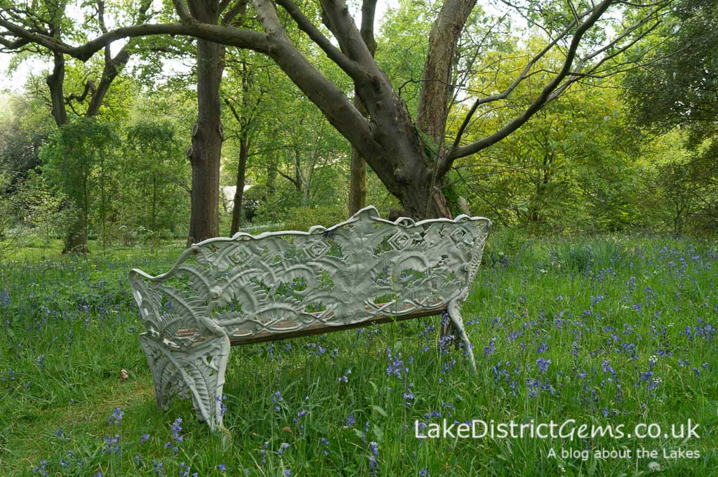 Woodland walks at Holker Hall
