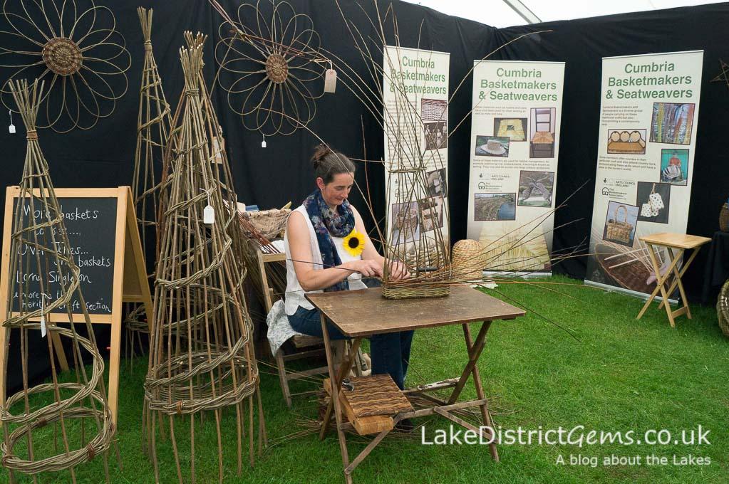 The Basketmakers' Association at the Holker Garden Festival 2016