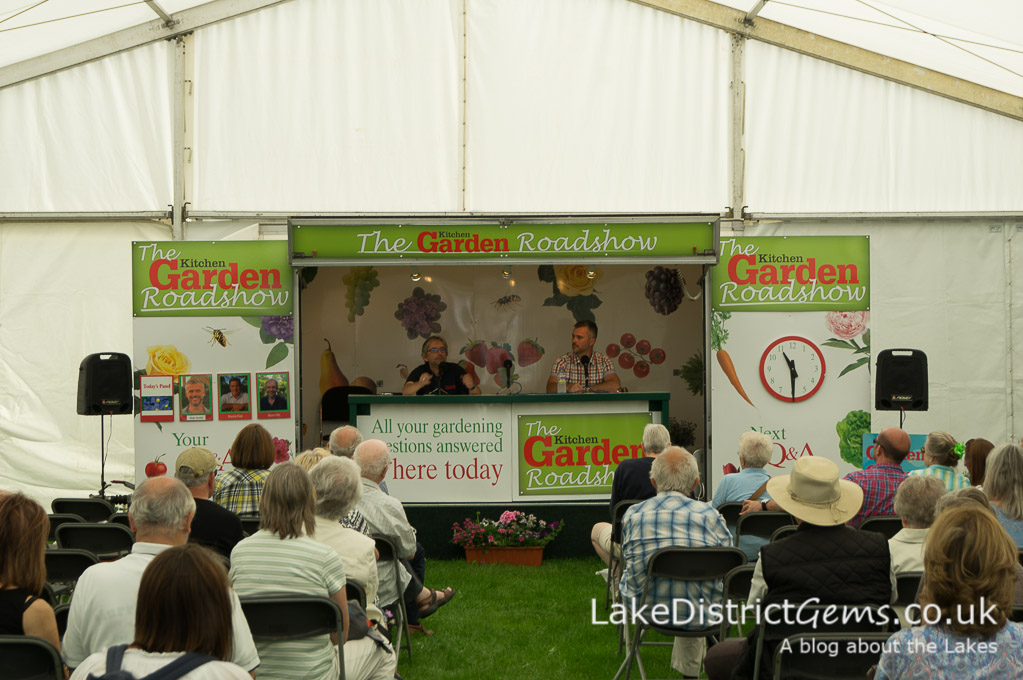 Gardening questions at the Holker Garden Festival 2016