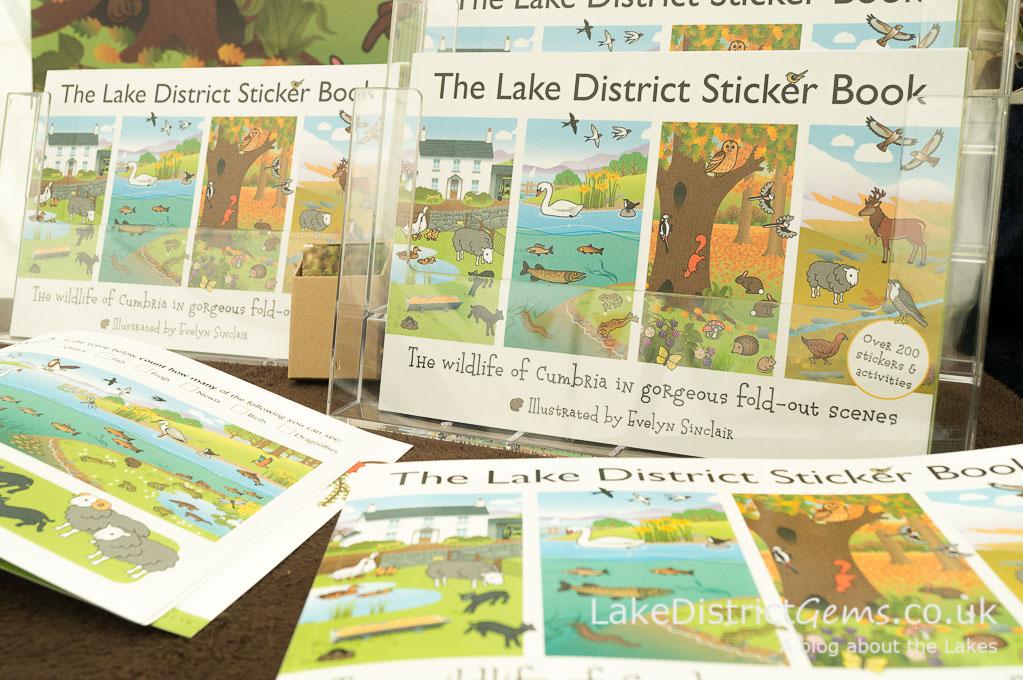 Lake District Sticker Book