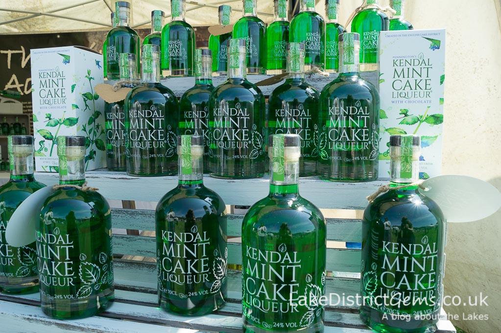 Kendal Mint Cake Liqueur at the Holker Garden Festival 2016