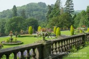 Thomas Mawson's formal garden at Rydal Hall