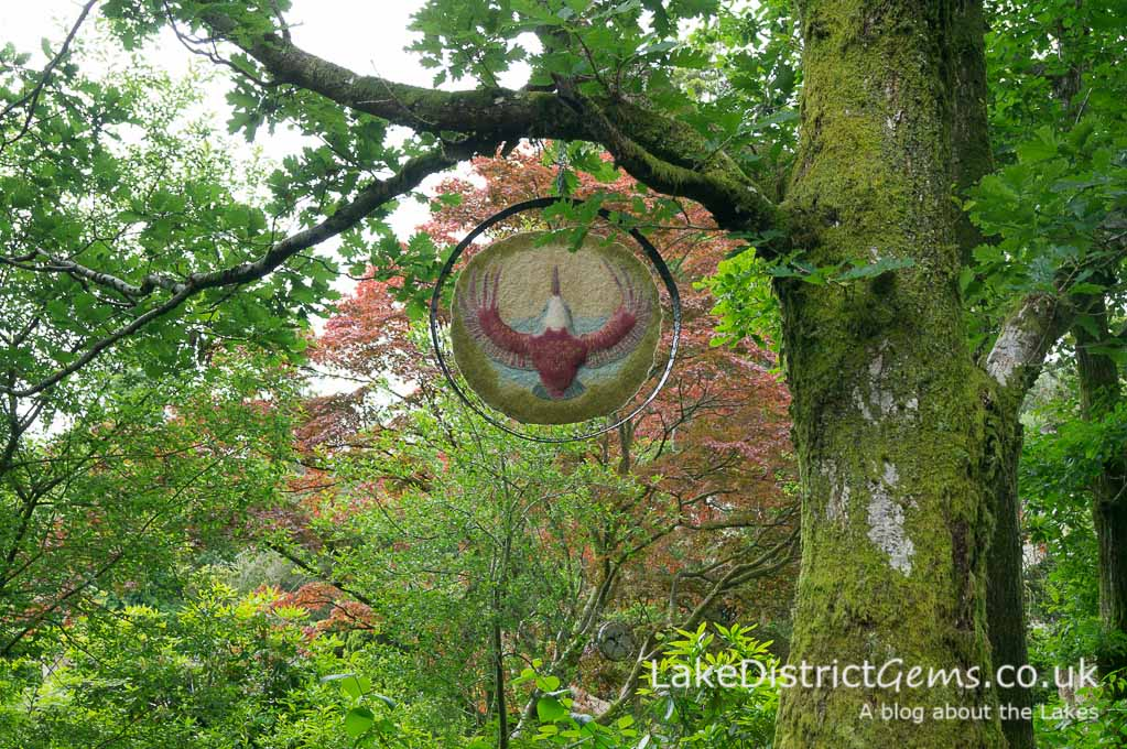 The sculpture path at Rydal Hall