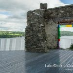 A look through the square window: Claife Viewing Station on the western shore of Windermere