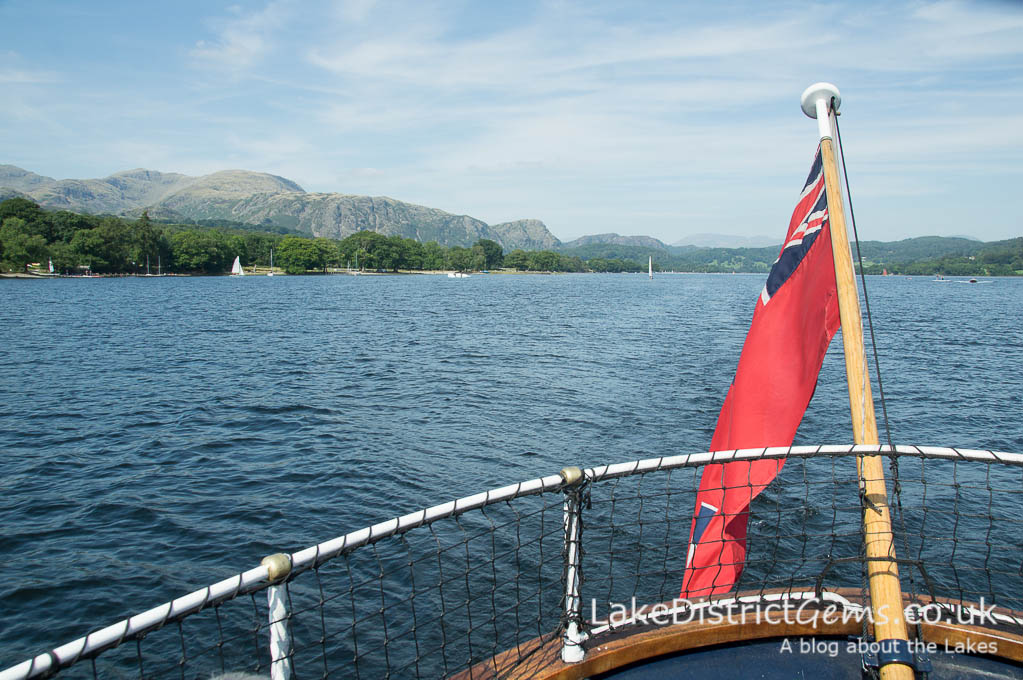 The view of Coniston from Gondola