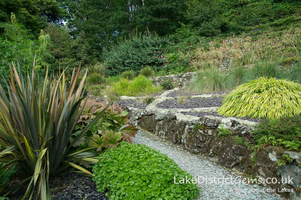 The Zig-zaggy Garden, Brantwood