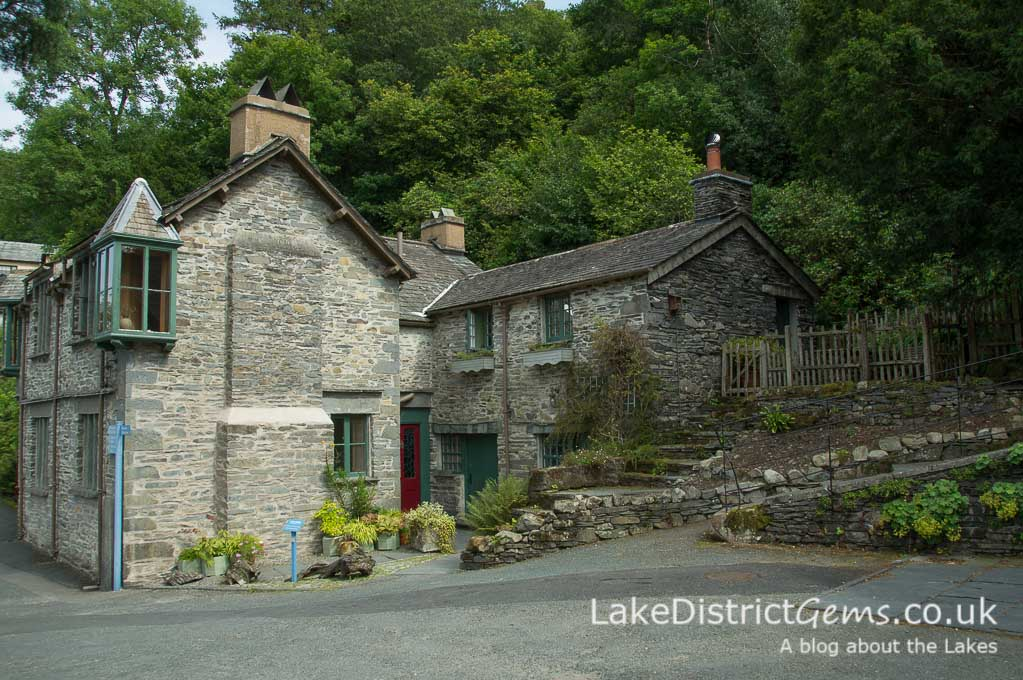 The Eyrie and The Lodge, self-catering at Brantwood