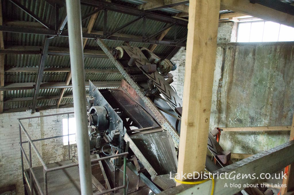 Force Crag Mine processing mill