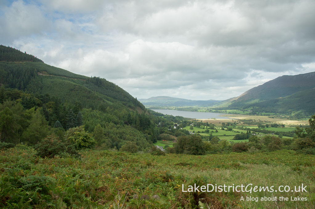 Bassenthwaite from Noble Knott car park