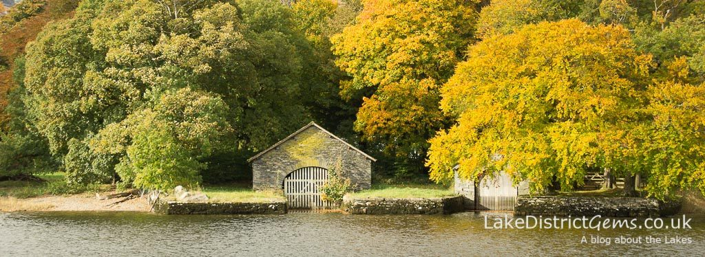 Boathouse on Coniston Water