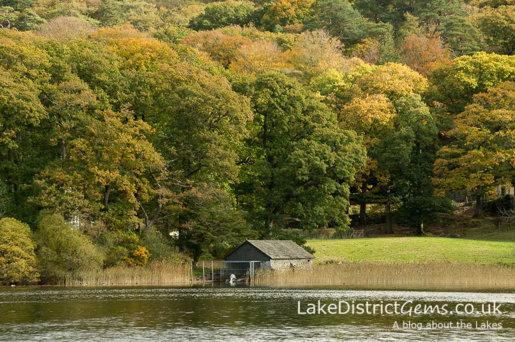 Boat house on Coniston Water