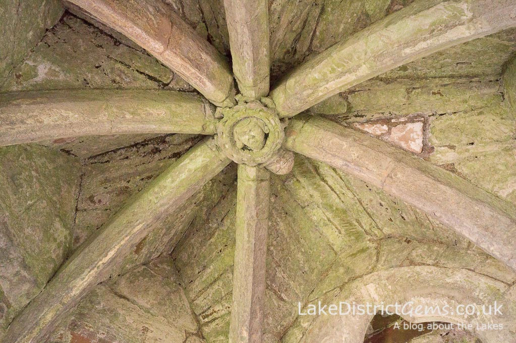 Part of a historic ceiling in the Lakes, but which one? Part of my November Lake District quiz