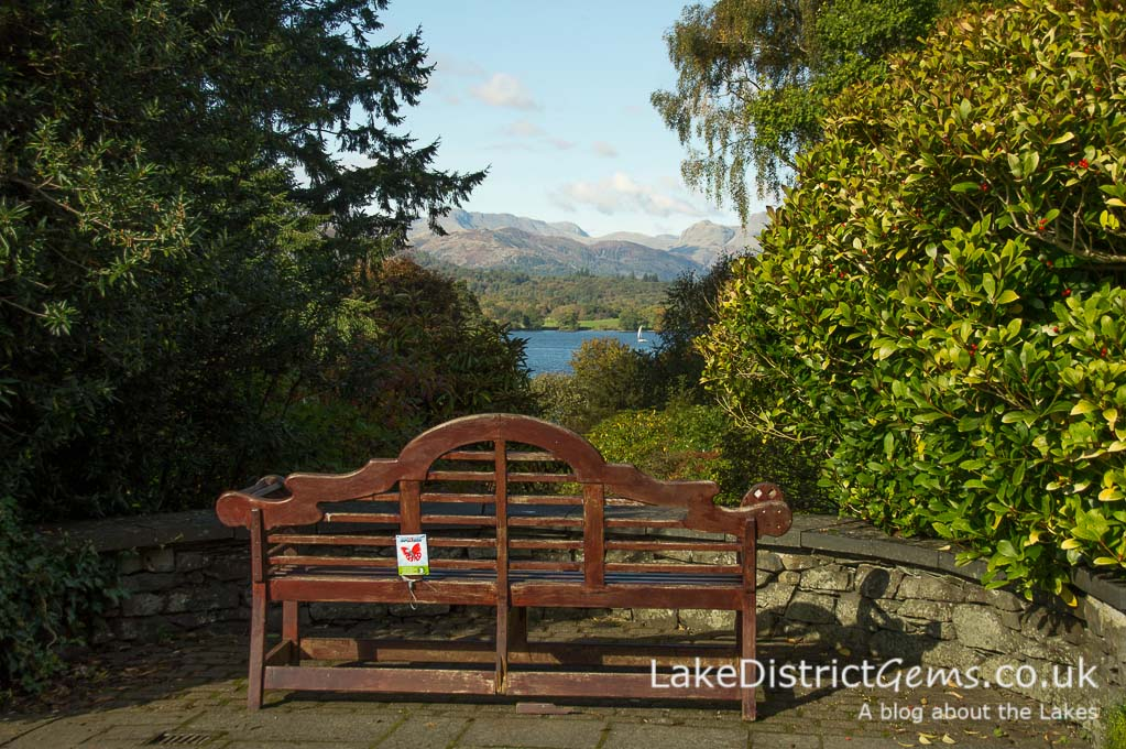 A bench with a view, but where? Part of my November Lake District quiz