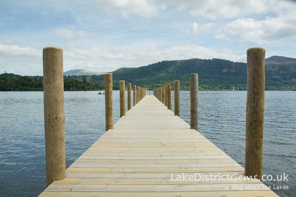 The Lingholm jetty on Derwentwater