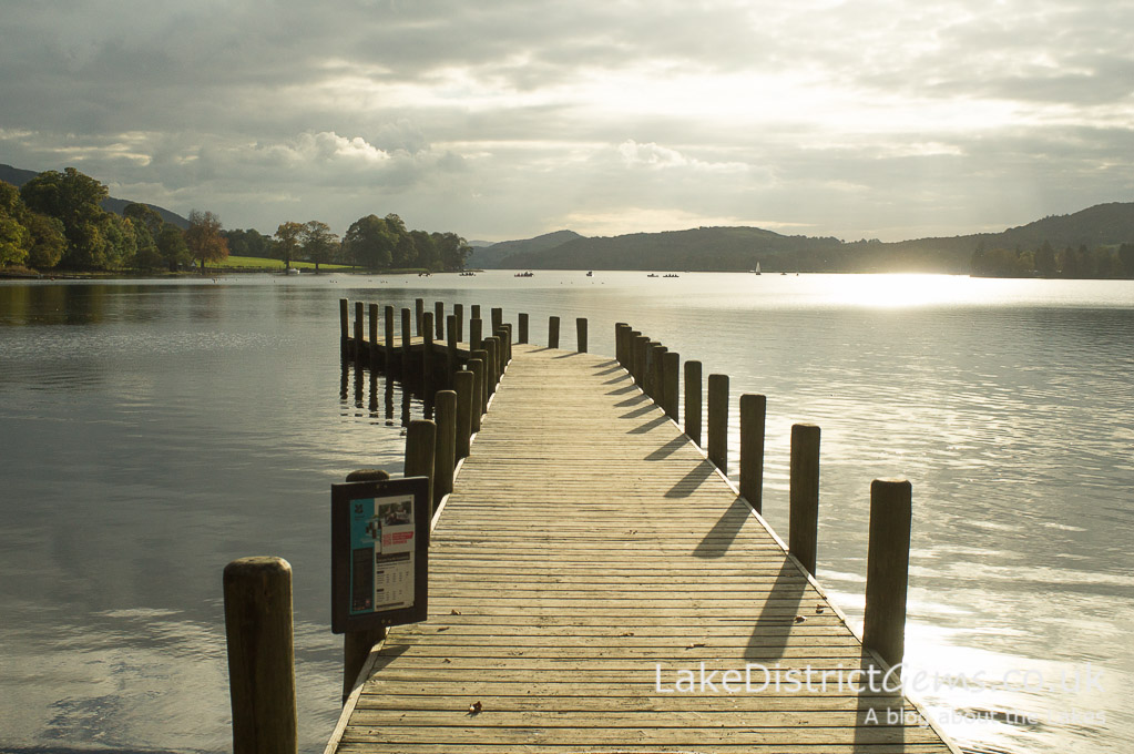 Monk Coniston jetty on Coniston Water