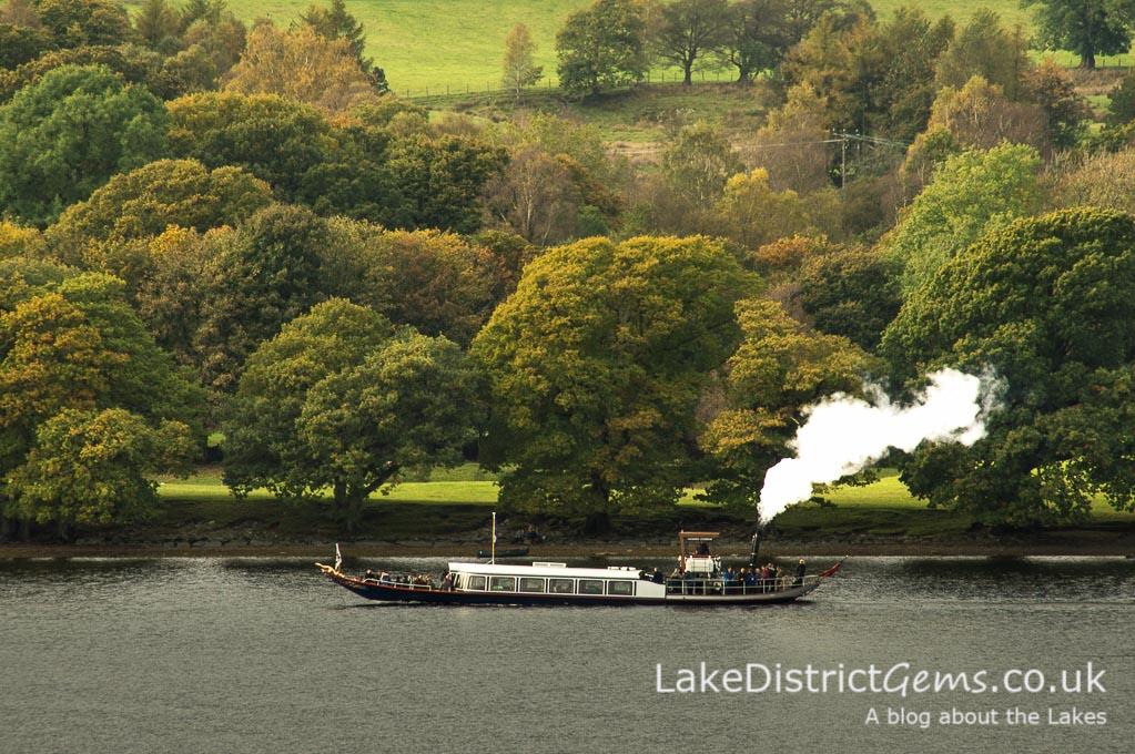 National Trust Steam Yacht Gondola