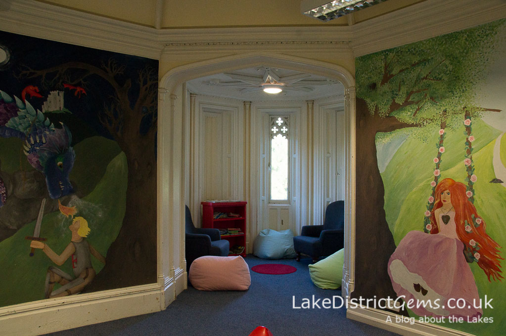 One of the children's playrooms at Wray Castle