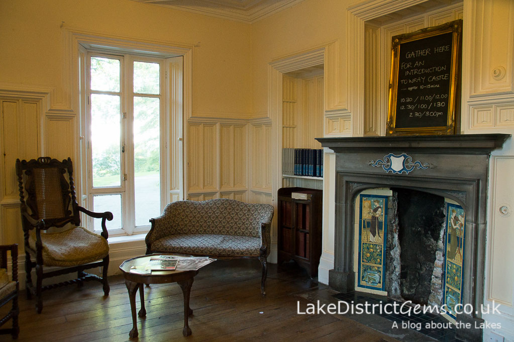 The Morning Room at Wray Castle
