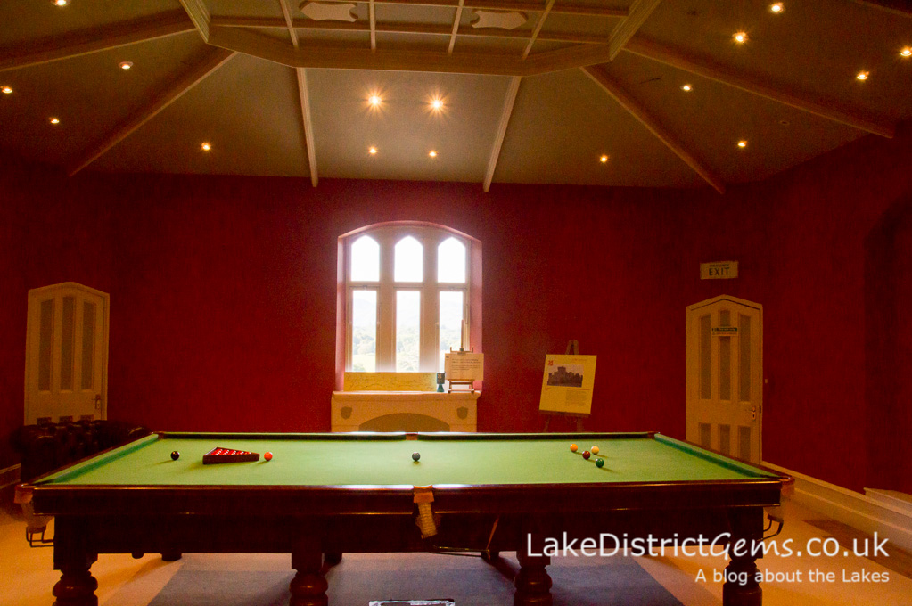 The Billiard Room at Wray Castle