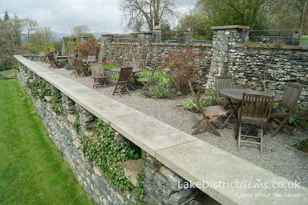 The terrace at Blackwell