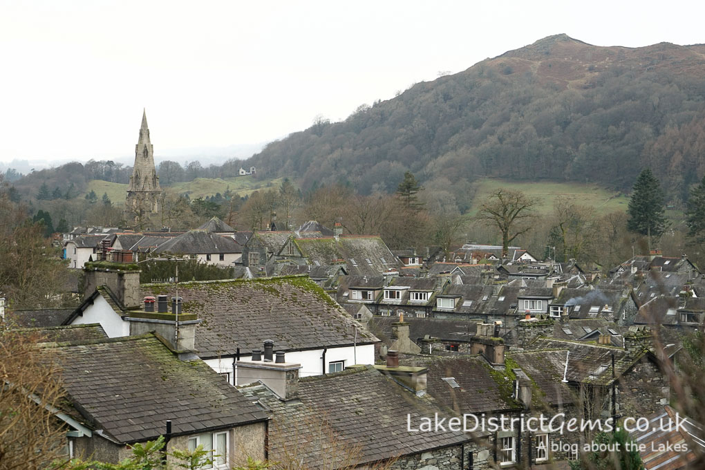 Looking over Ambleside from Sweden Bridge Lane