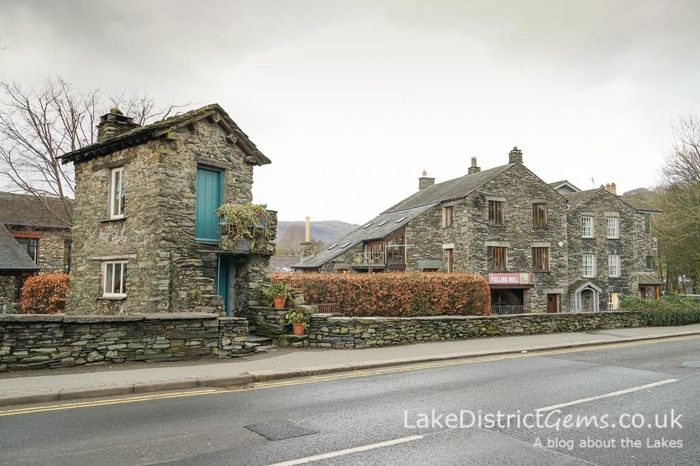 Bridge House, Ambleside and The Fulling Mill