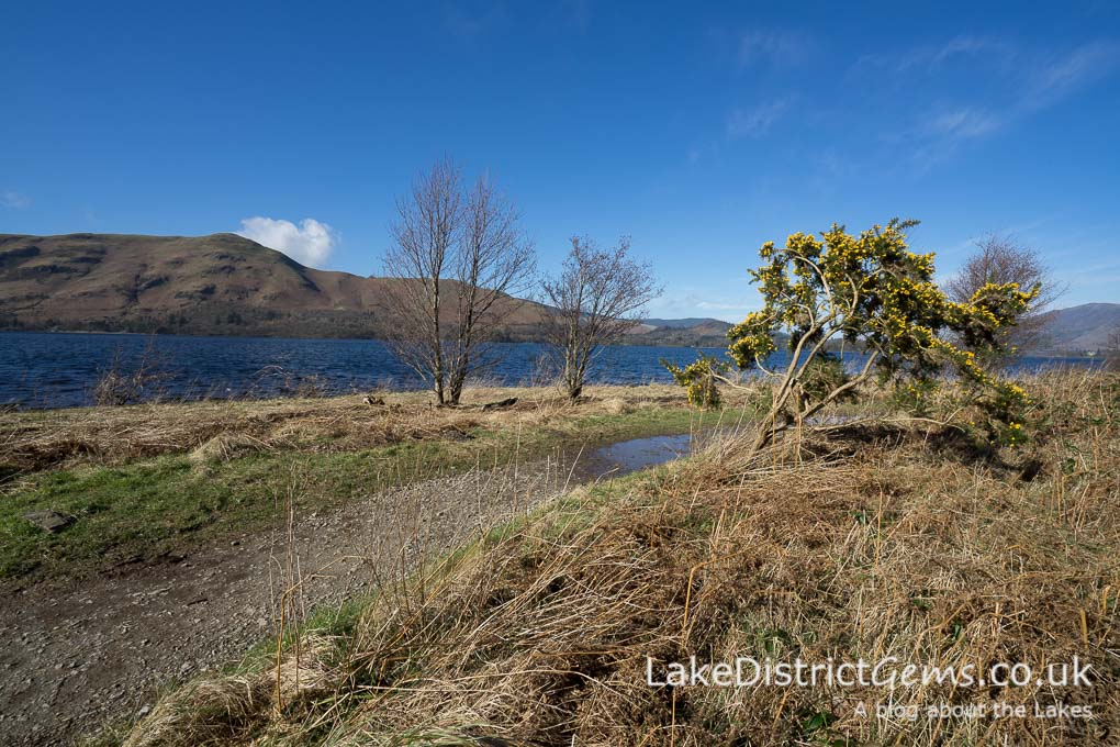 Path on the eastern shore of Derwentwater