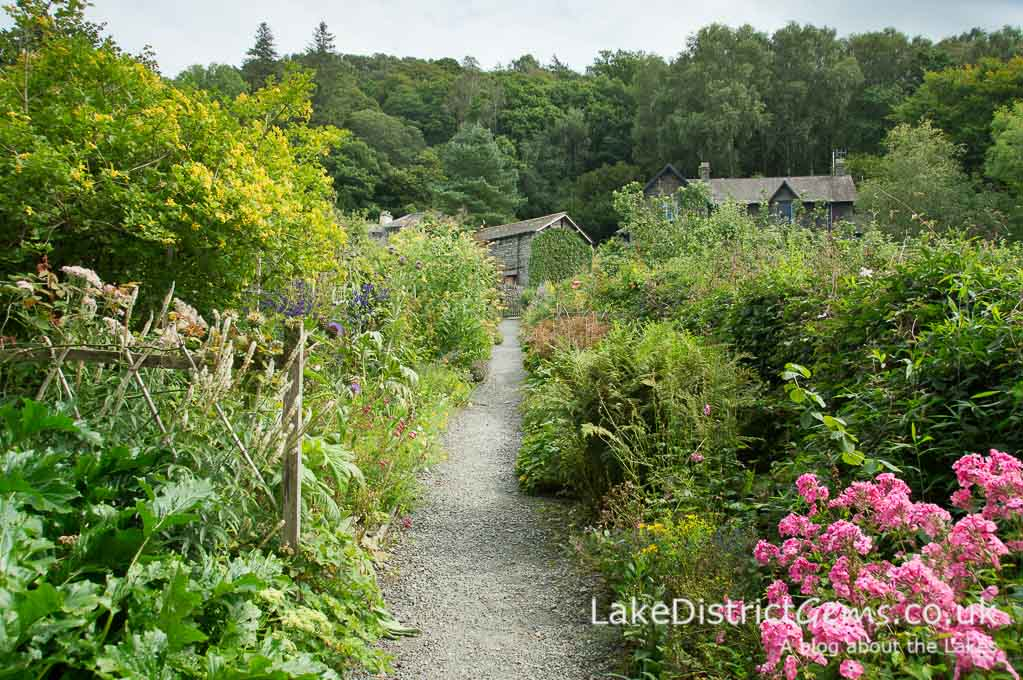 The gardens at Brantwood, Coniston