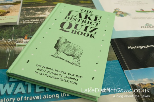 The Lake District Quiz Book by David Felton, Inspired by Lakeland