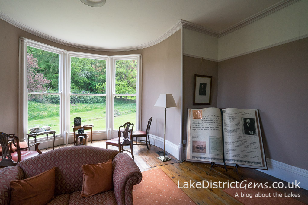 A downstairs room at Allan Bank, Grasmere