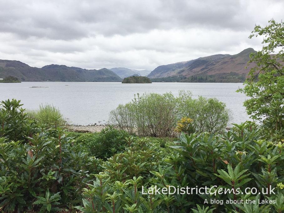 A view from Derwent Island