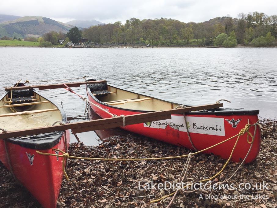 Canoes from Keswick Canoe and Bushcraft