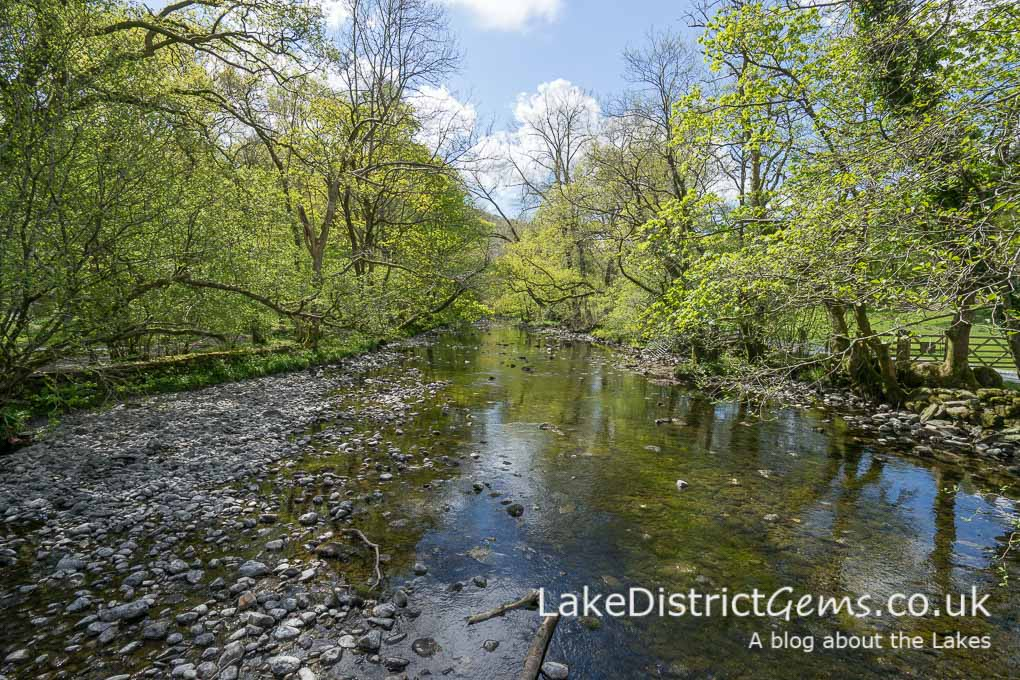 The River Rothay from the bridge
