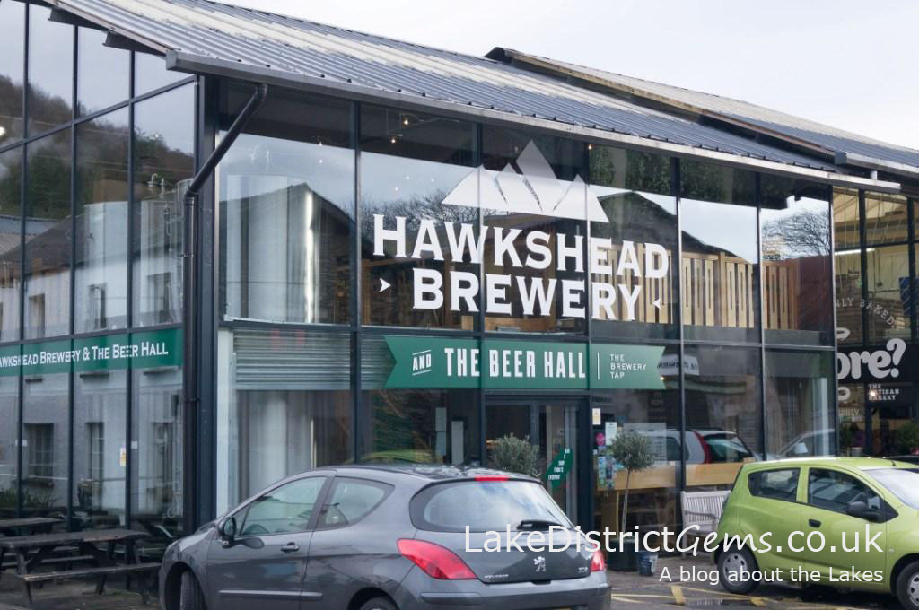 Hawkshead Brewery in Staveley from outside