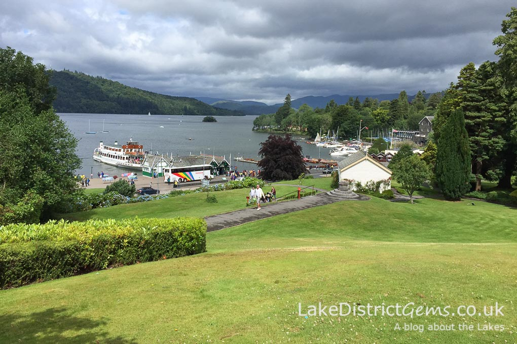 The Glebe in Bowness-on-Windermere from the Laura Ashley Belsfield Hotel